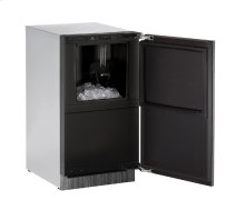 "Modular 3000 Series 18"" Clear Ice Machine With Integrated Solid Finish and Field Reversible Door Swing"
