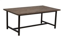 Coffee Table, Available in Black Wash Finish Only.