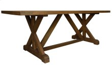 Dining Table, Available in Hampton Brown Finish Only.