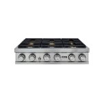 """Dacor36"""" Rangetop, Stainless Steel, Natural Gas"""