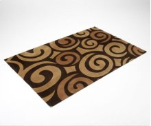 Chocolate Swirl Rug