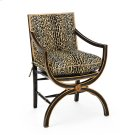 Armchair with Eglomise Arabesque Back Product Image