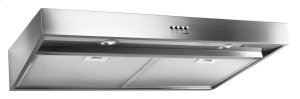 """36"""" Range Hood with Dishwasher-Safe Full-Width Grease Filters"""