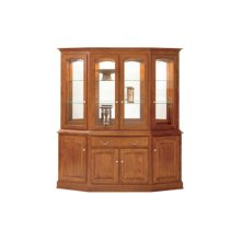 """Manchester Canted Hutch 76"""" Buffet"""