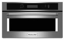 "27"" Built In Microwave Oven with Convection Cooking - Stainless Steel"