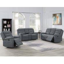 """Chenango Manual Motion Sofa w/ Drop Down Tbl LG 79""""x37""""x42"""""""