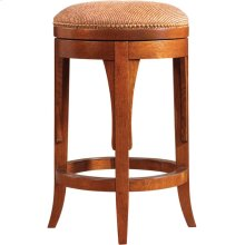 Counter Stool, Oak Swivel Stool
