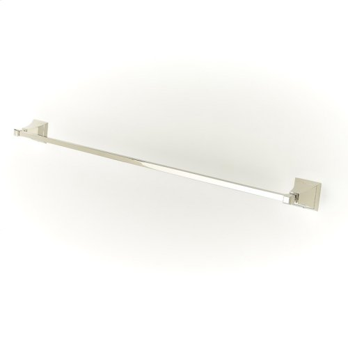 30in Towel Bar Leyden (series 14) Polished Nickel