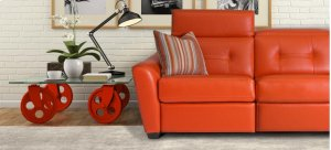 Clario Sectional (012-050-061; Wood legs - Tea T37)