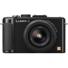 LUMIX DMC-LX7 10.1 MP 3.8X Advanced Zoom Digital Camera - Black