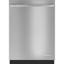 24-Inch Flush TriFecta™ Dishwasher with Built-In Water Softener, Euro-Style Stainless Handle