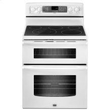 6.7 cu. ft. Capacity Double Oven Electric Range with Even-Air Convection- IN STORE ONLY (FLOOR MODEL)
