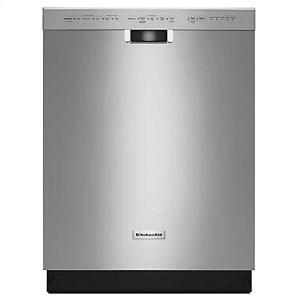 KITCHENAID24'' 6-Cycle/5-Option Dishwasher, Pocket Handle - Stainless Steel
