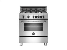 RED HOT BUY ! 30 4-Burner, Electric Oven Stainless