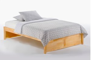 K-Series Basic Bed in Natural Finish