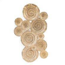 Escargot Platter in Gold