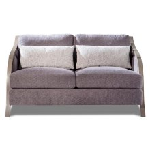 Charcoal Loveseat