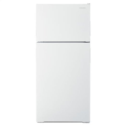 28-inch Top-Freezer Refrigerator with Dairy Bin - white