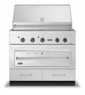 "41"" W x 30"" D Base w/36"" Warming Drawer Opening - VQWO (41"" wide - Grill Base with 36""W. Warming Drawer cutout; 2 drawer)"