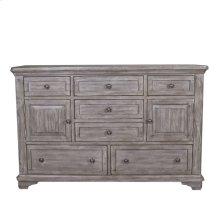 7 Drawer 2 Door Dresser