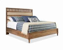High Upholstered Bed Queen