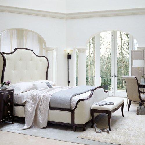 King-Sized Miramont Upholstered Panel Bed in Miramont Dark Sable (360)