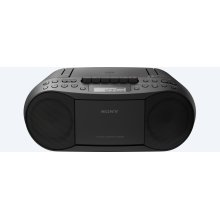 CD/Cassette Boombox with Radio