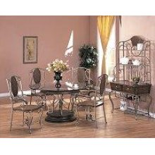 """Danette 54"""" Round Glass Dining Table Top"""