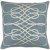 """Additional Leah LAH-002 18"""" x 18"""" Pillow Shell with Polyester Insert"""