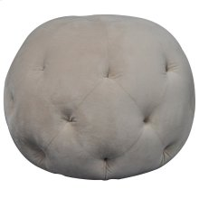 Barb Round Tufted Ottoman