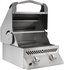 Built-In SIZZLE ZONE Head Stainless Steel with Two Infrared Burners
