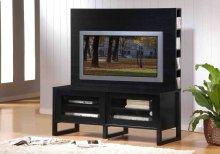 TV STAND - BLACK OAK VENEER