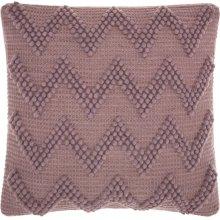 "Life Styles Dc173 Lavender 20"" X 20"" Throw Pillows"