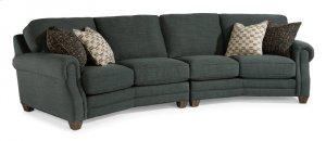 Gretchen Fabric Conversation Sofa