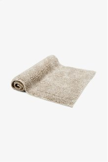 "Fray Linen and Cotton Bath Rug 23"" x 23"" STYLE: FYRU01"