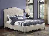 Queen Upholstered Bed Kit W/scroll Pattern