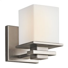 Tully 1 Light Wall Sconce Antique Pewter