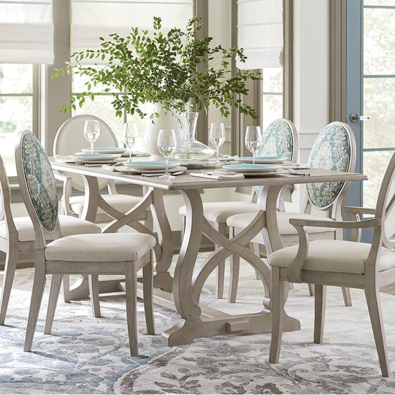 KW In By Bassett Furniture In Greenville SC Custom Dining - Custom dining room table and chairs