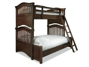 Bunk Bed (Twin over Full) - Classic Cherry