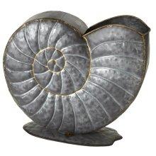 Galvanized Shell Planter