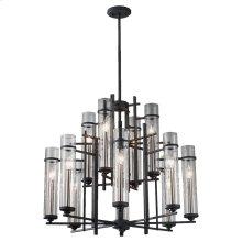 12 - Light Multi-tier Chandelier
