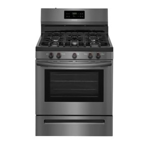 30'' Gas Range - BLACK STAINLESS STEEL