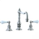 Highlands - 3-Hole Widespread Pillar Kitchen Faucet Without Side Spray - Polished Chrome Product Image