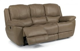 Estella Leather Power Reclining Sofa