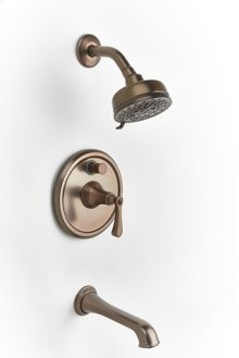 Berea Pressure-balance Tub and Shower Set Trim - Bronze