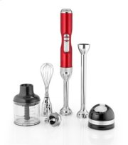 Pro Line® Series 5-Speed Cordless Hand Blender - Candy Apple Red Product Image