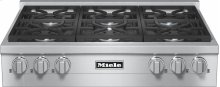 KMR 1134 G RangeTop with 6 burners for professional applications