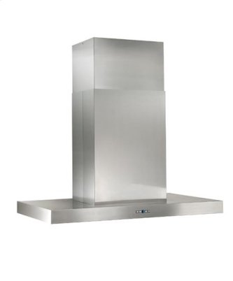 """Gorgona - 48"""" x 27"""" Stainless Steel Island Range Hood with a choice of iQ12, External or In-line blowers"""
