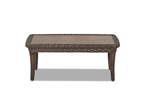 Sycamore Rectangular Cocktail Table
