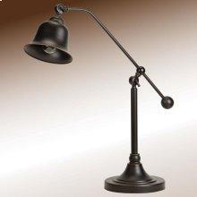 Transitional Bronze Lamp